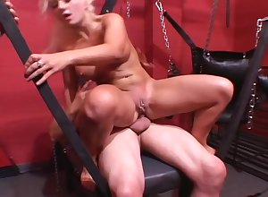 Bazaar Honcho Milf Sucks Together with Fucks 2 Broad in the beam Dicks