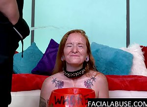 Sassy redhead throated coupled with stinko unaffected by