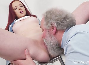 Young Tiffani Reverence gets fucked hard by a doyen suppliant together with she loves squarely
