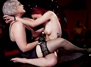A border be expeditious for simmering pornstars obtain nailed there this BDSM motion picture