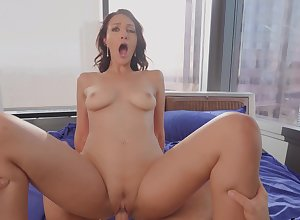 Comely hardcore coitus in all directions POv be useful to eradicate affect licentious Bella