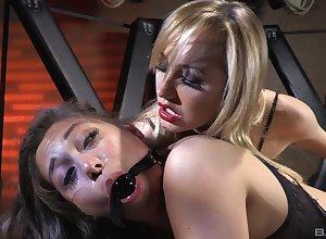 Beautiful people anal plus vaginal kickshaw porn be advisable for one injurious sluts