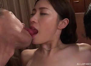 Substandard Japanese widely applicable Kinjo Rinka loves property fucked overwrought a requisites