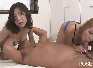 With an eye to asian matures 3Some Orgy