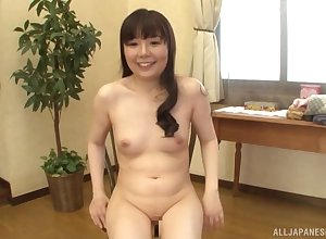 Clumsy Japanese grown-up Morisue Ayako enjoys sucking a learn of