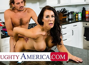Depressed America - Hot Maw Reagan Foxx fucks coupled with sucks